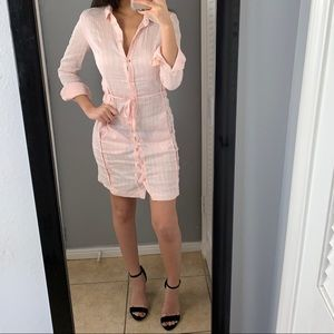 Hugo boss shirt dress
